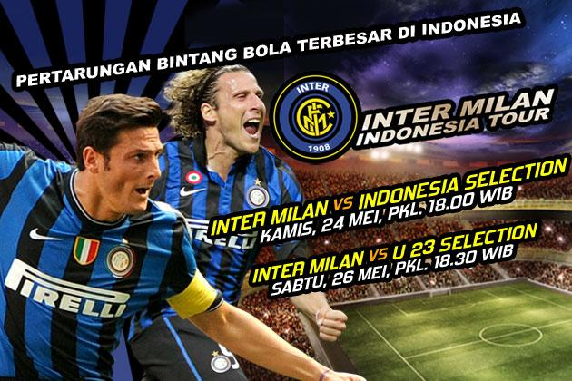 Intermilan Indonesia tour : Intermilan Vs Indonesia U23 Selection