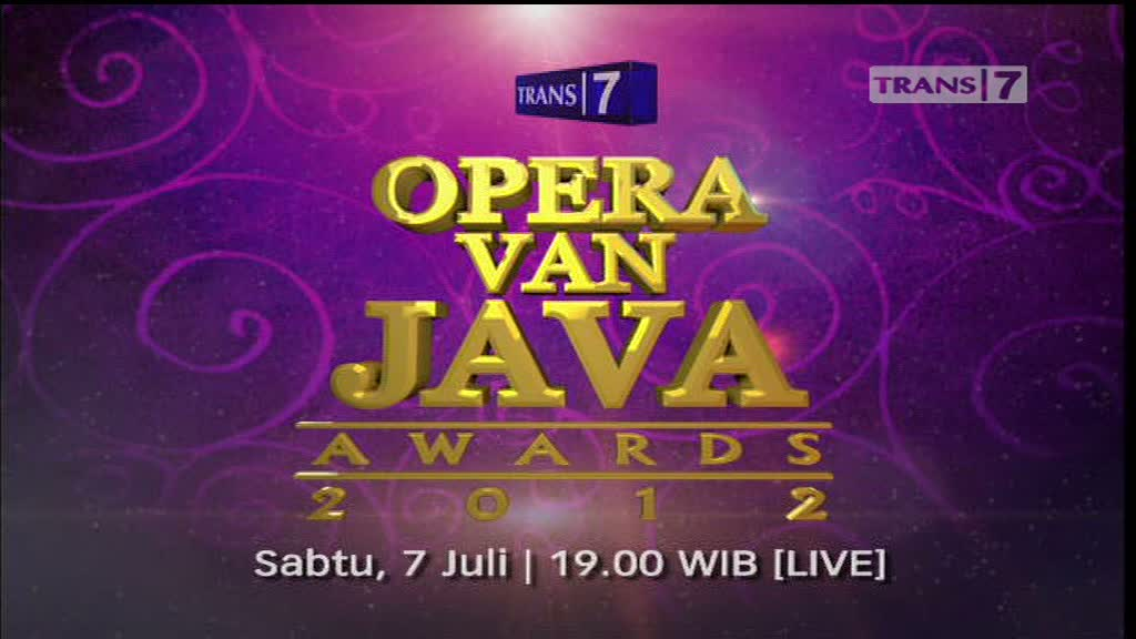 OPERA VAN JAVA AWARDS 2012
